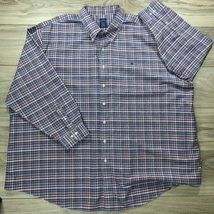 Brooks Brothers Plaid Check Non-Iron Button Down
